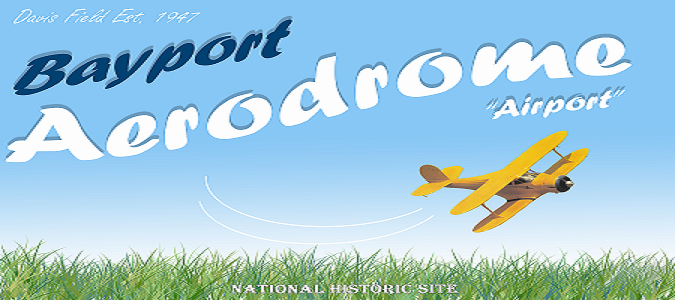 Bayport Aerodrome Sign